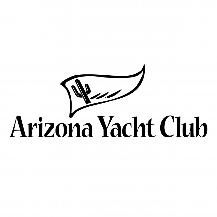 Arizona Yacht Club logo black