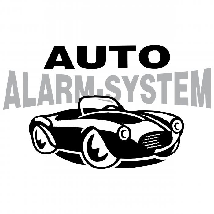 Auto Alarm System logo grey