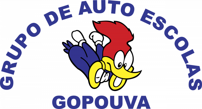 Auto Escola Gopouva logo colored