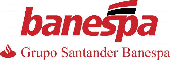 Banco Banespa logo red
