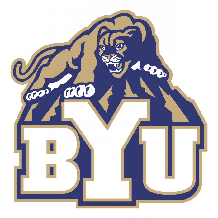 Brigham Young Cougars logo BYU