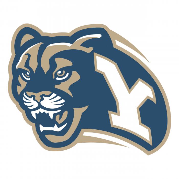 Brigham Young Cougars logo Y