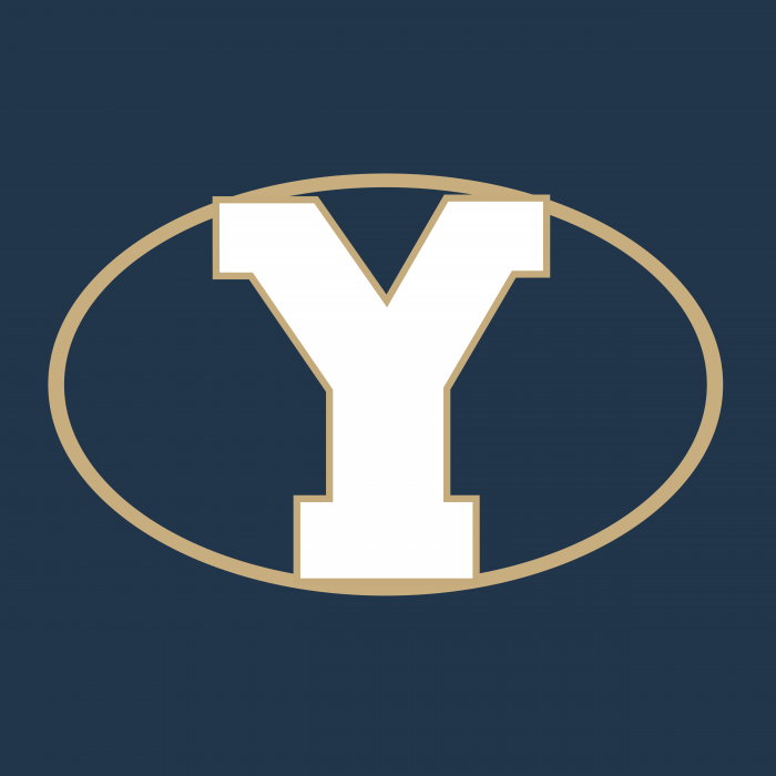 Brigham Young Cougars logo cube