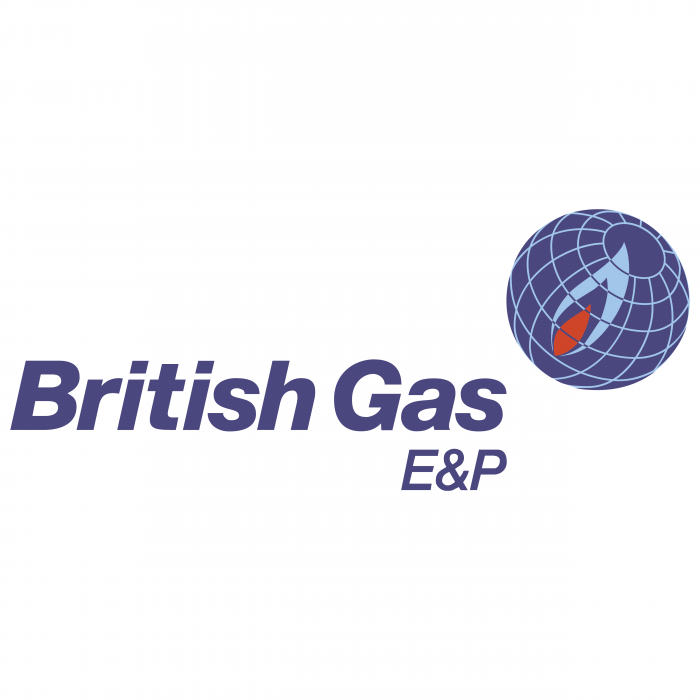 British Gas logo blue