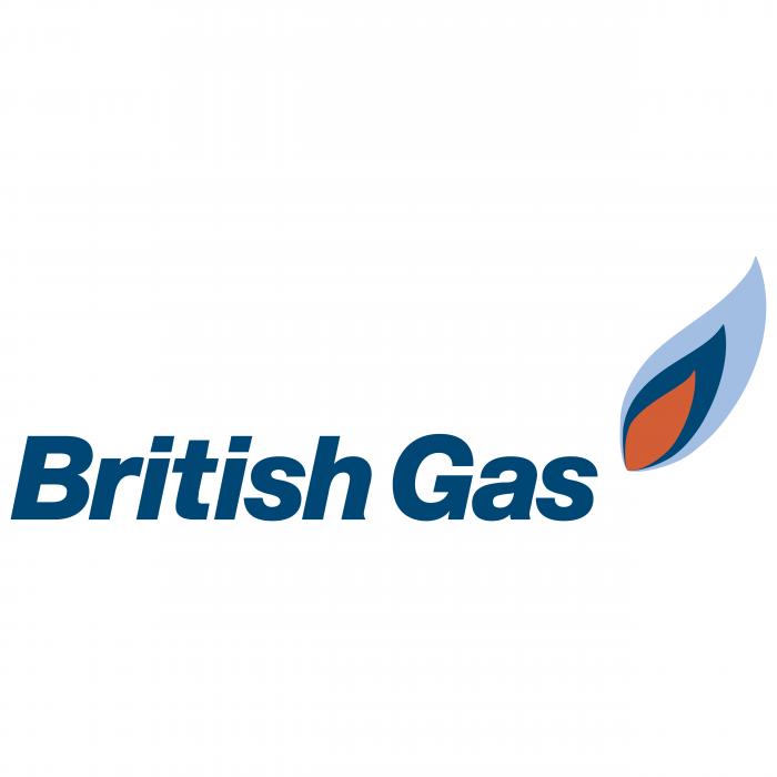 British Gas logo clored