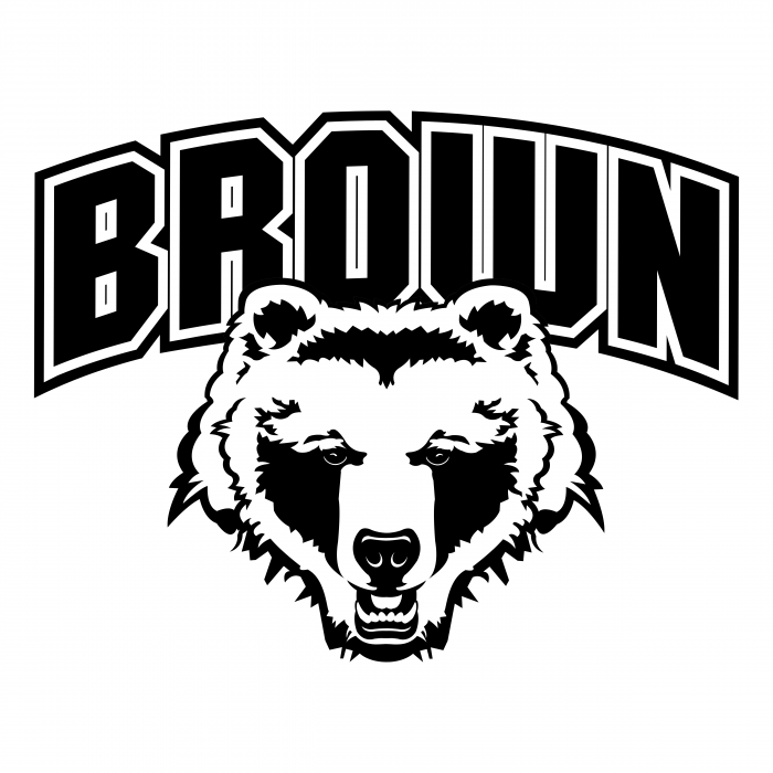 Brown Bears logo black