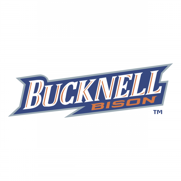 Bucknell Bison logo orange