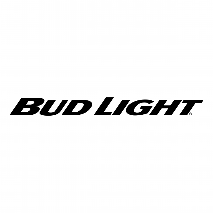 Bud Light logo black