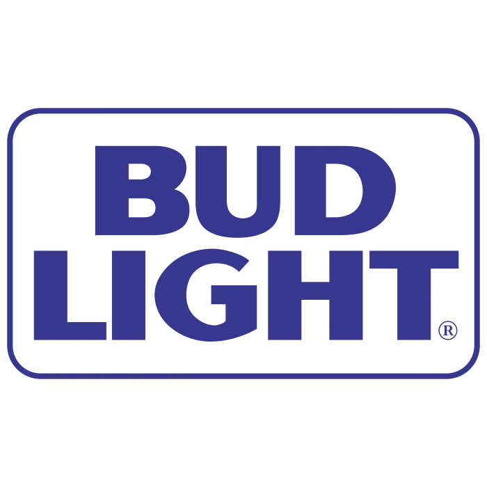 Bud Light logo blueR