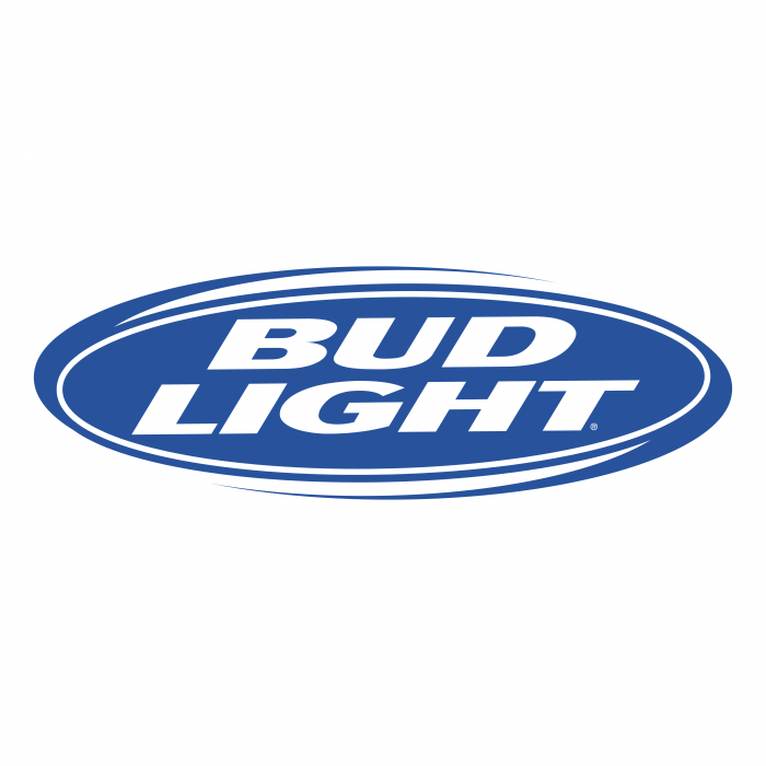 Bud Light logo blue oval