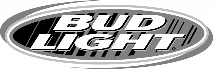 Bud Light logo grey