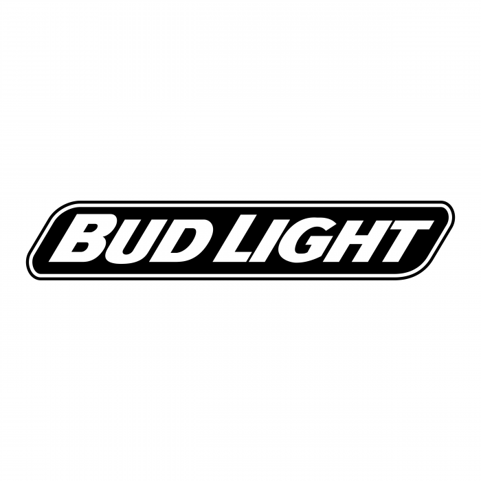 Bud Light logo white