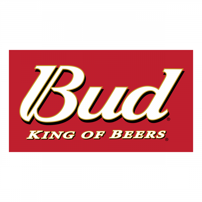 Bud logo red