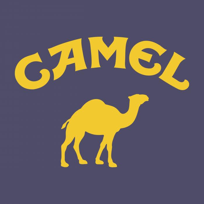 Camel logo grey