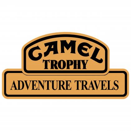 Camel logo trophy