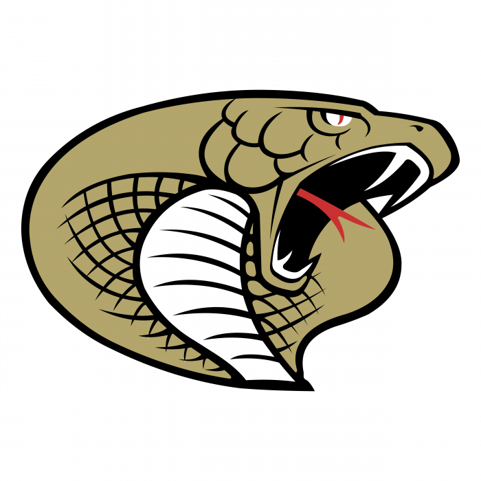 Carolina Cobras logo colored