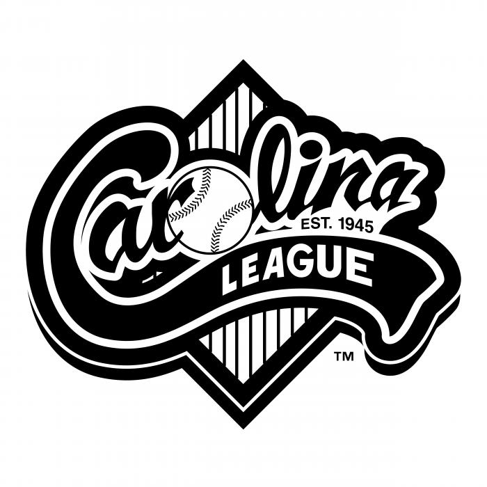 Carolina League logo balck