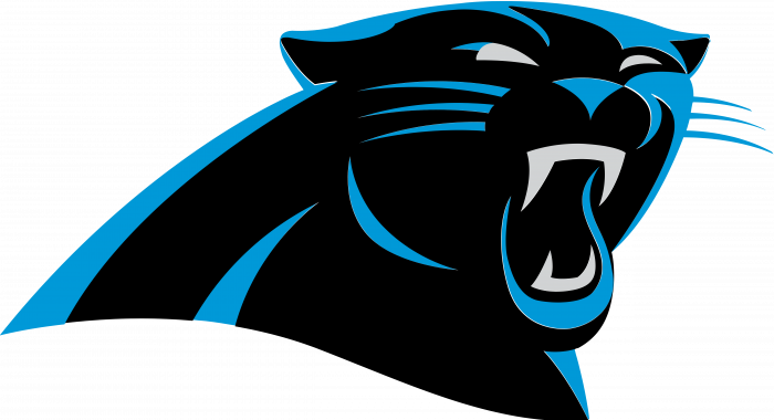 Carolina Panthers logo blue