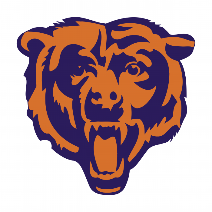 Chicago Bears logo color