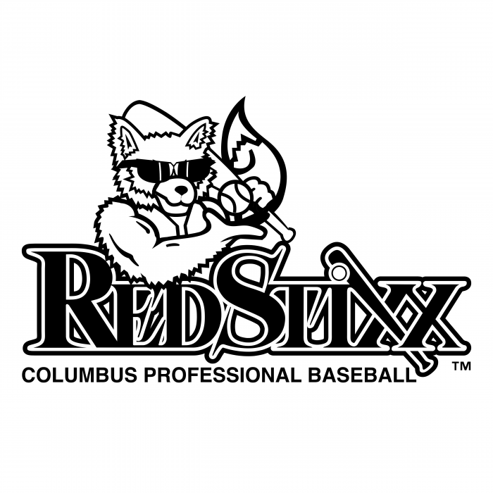 Columbus Redstixx logo black