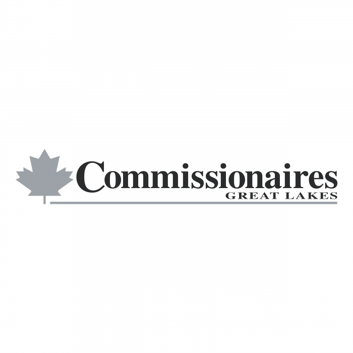 Commissionaires Great Lakes logo grey