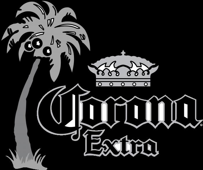 Corona logo grey