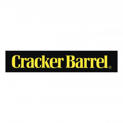 Cracker Barrel logo balck