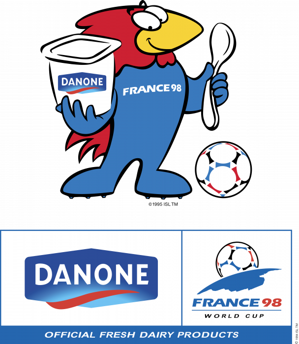 Danone logo worldcup