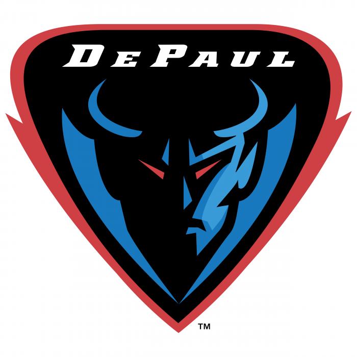 DePaul Blue Demons logo TM