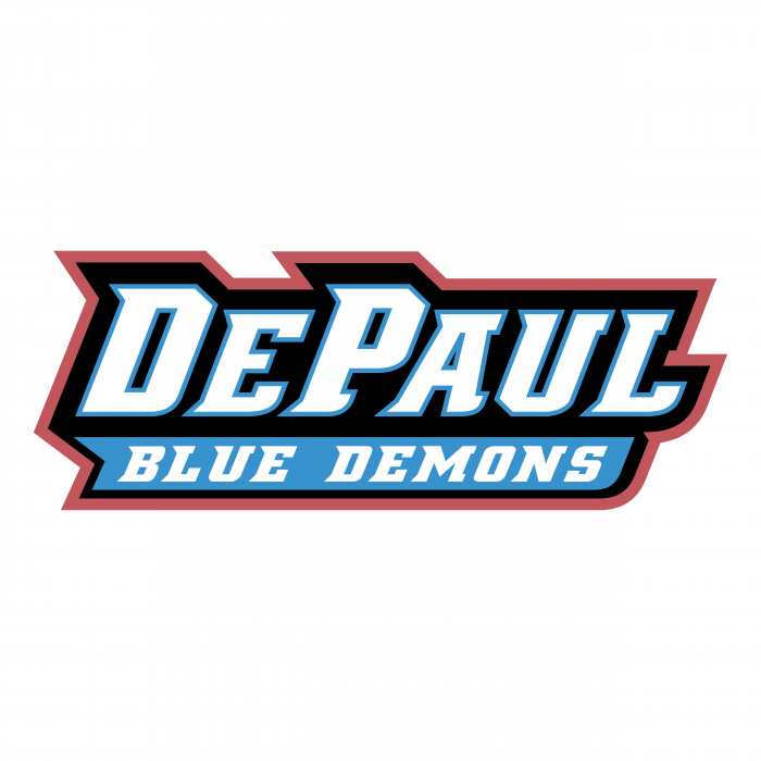 DePaul Blue Demons logo words