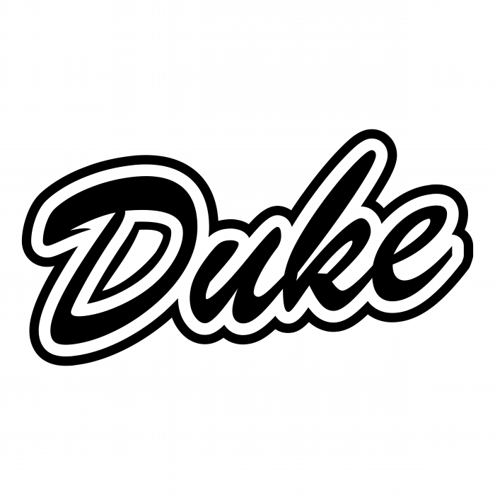 Duke Blue Devils logo black