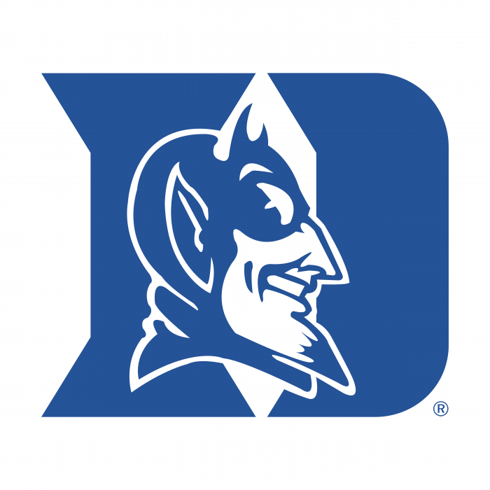 Duke Blue Devils logo blue