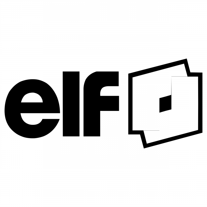 ELF logo black