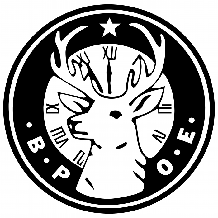 ELKS Club logo black