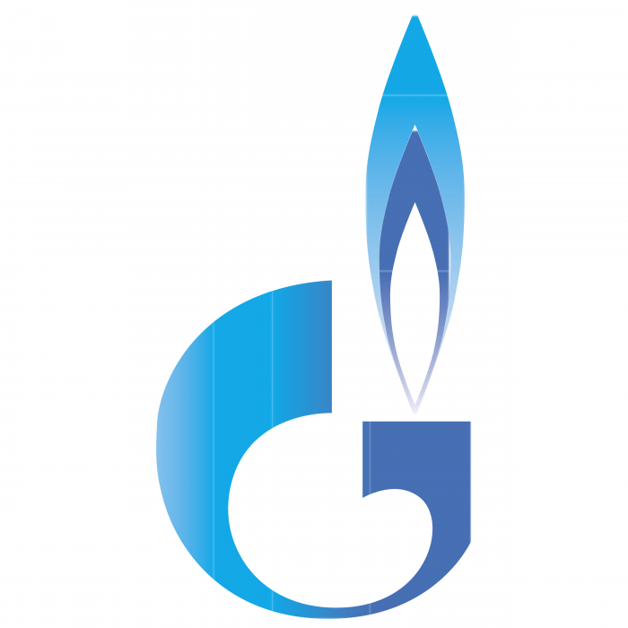 Gazprom logo colored