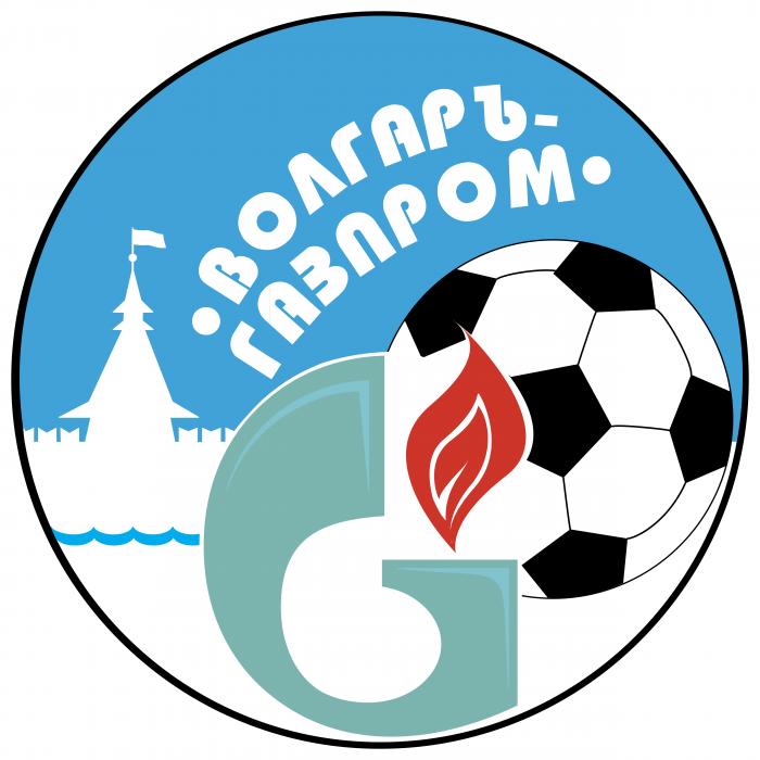 Gazprom logo volgar
