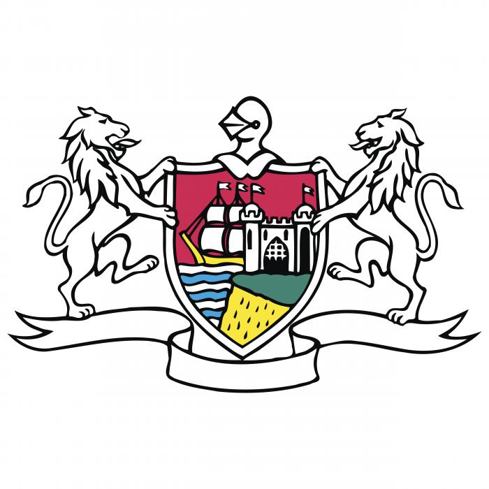 Gloucestershire logo white