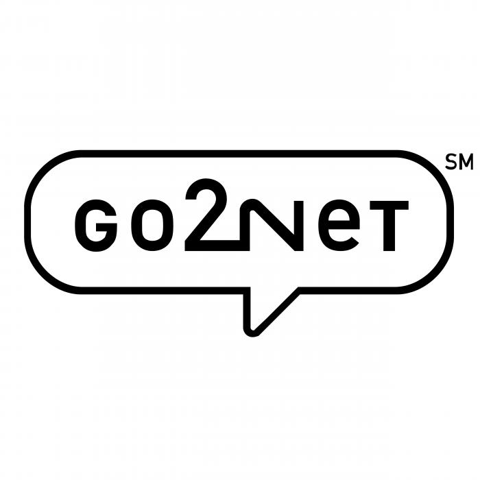 Go2Net logo black