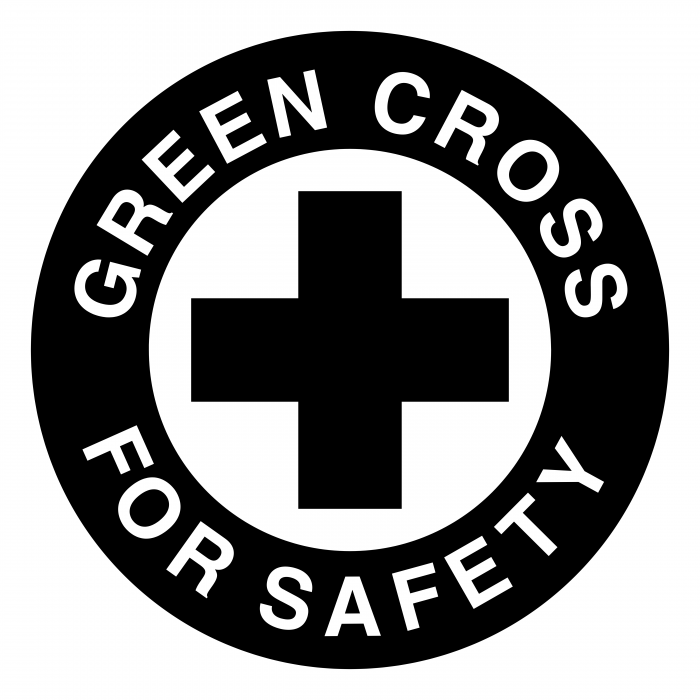 Green Cross logo black