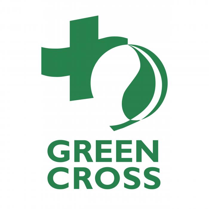 Green Cross logo green