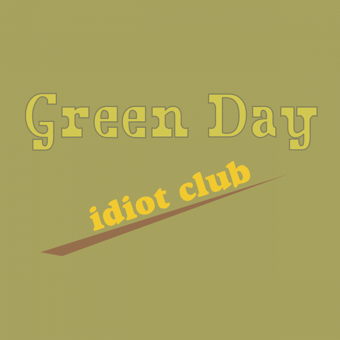 Green Day logo cube