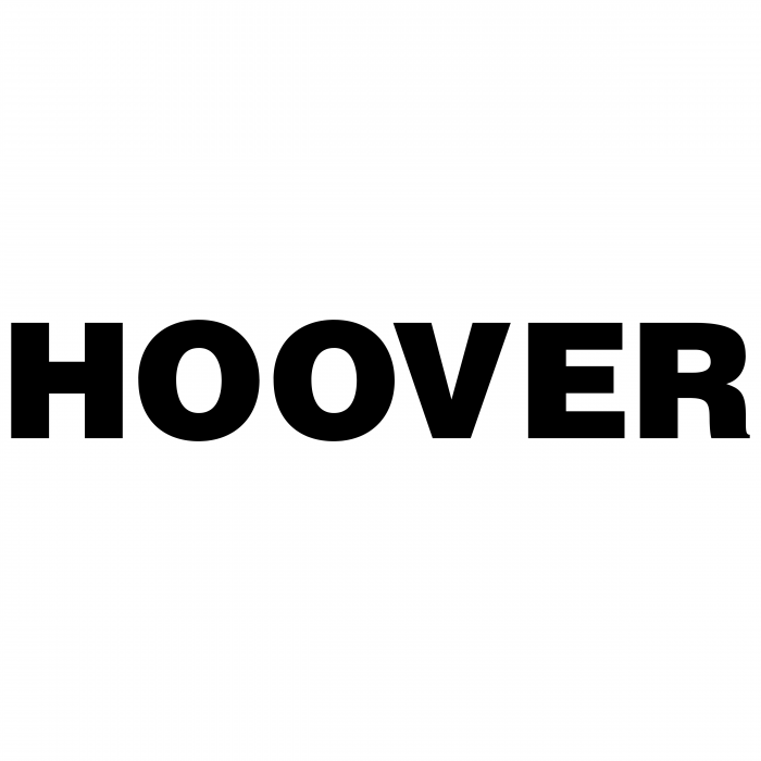 Hoover logo black