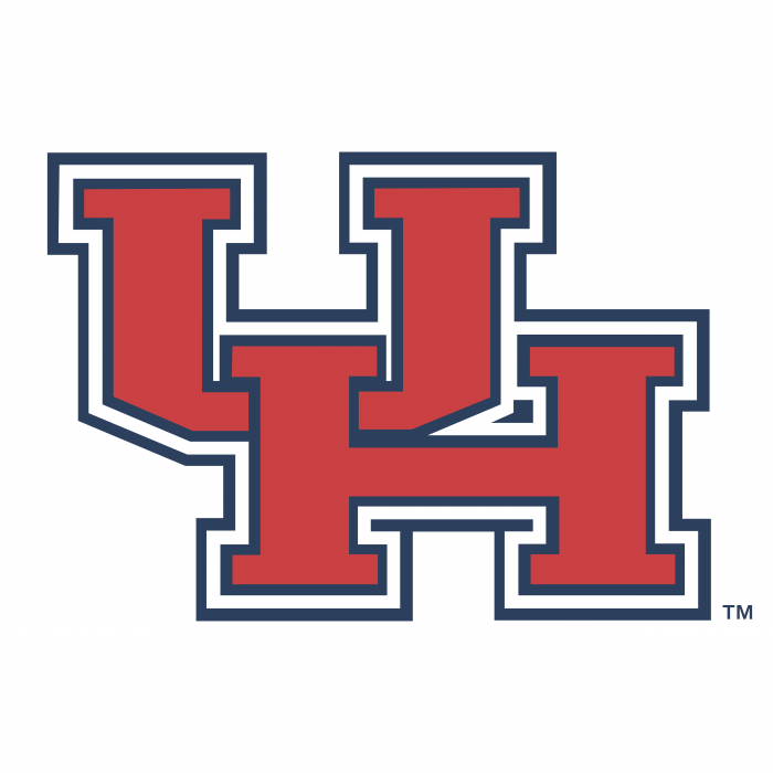 Houston Cougars logo HU