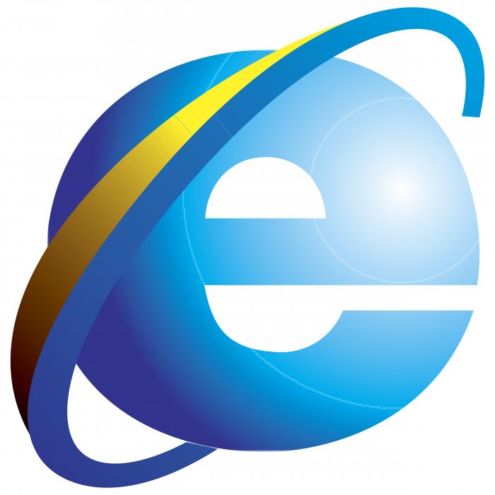 Internet Explorer logo colored