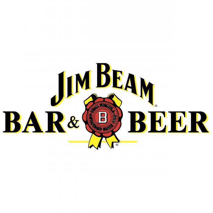 Jim Beam logo bar