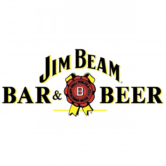 Jim Beam logo bar