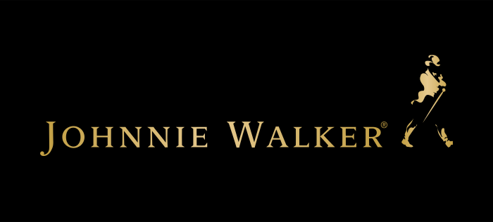 Johnnie Walker logo black gold