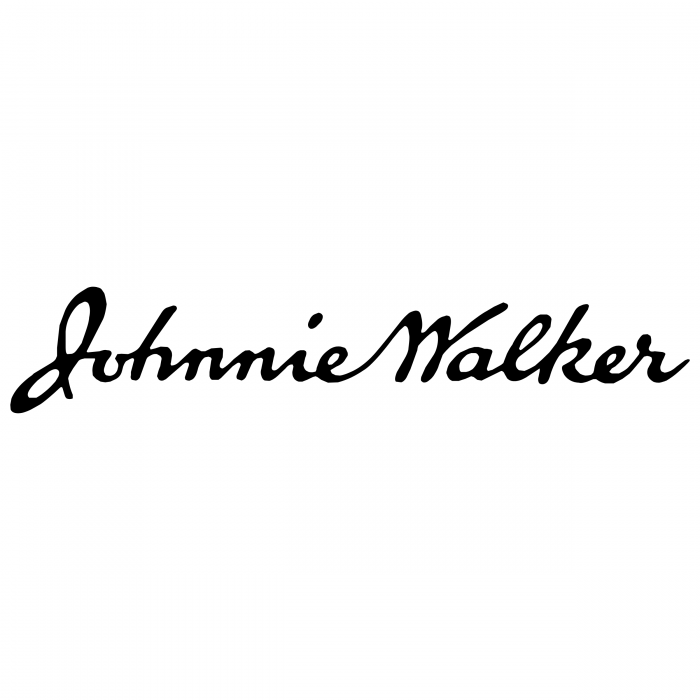 Johnnie Walker logo signature