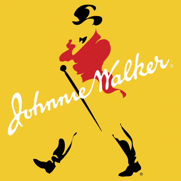 Johnnie Walker logo yellow