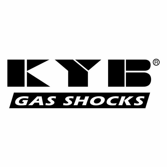 KYB logo black